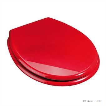 Toilettensitz mit Deckel, Farbe Rot