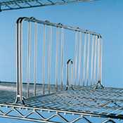 Fachteiler für Sortierwagen, Maße: 457 x 200 mm