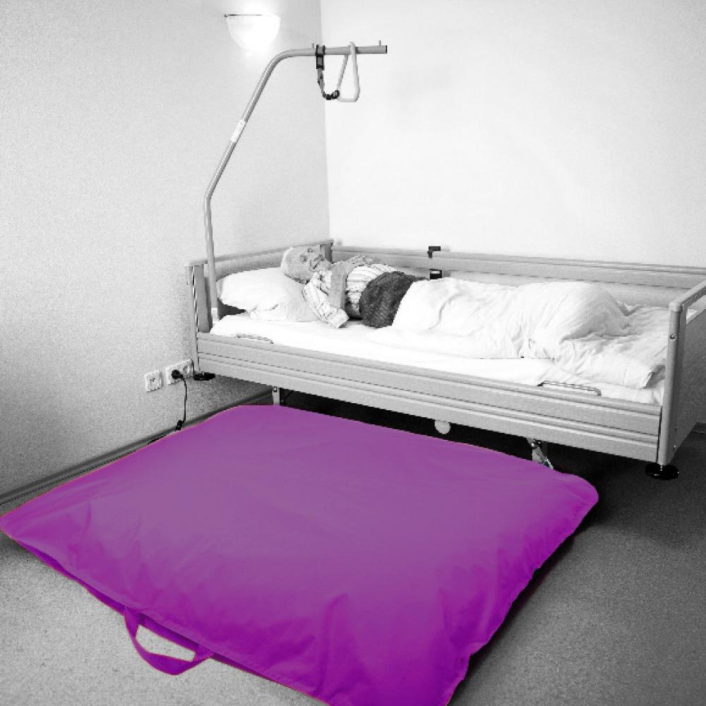 careline pflegeshop bodensturzkissen farbe aubergine aubergine online kaufen. Black Bedroom Furniture Sets. Home Design Ideas